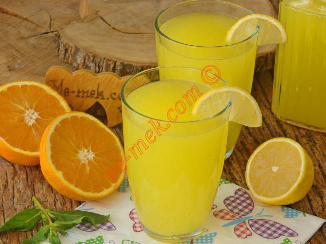 1 Limon 1 Portakaldan 3 Litre Limonata Resimli Tarifi - Yemek Tarifleri