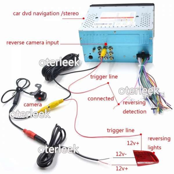 17 Car Reverse Camera Wiring Diagram Car Diagram Wiringg Net Reverse Camera For Car Car License Plate Frames Car License Plate