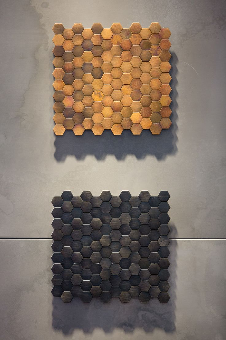 COPYCAT #floor #wallcovering #Decastelli at Maison&Objet 2015 #iron #brass ph: Stefano Borghi