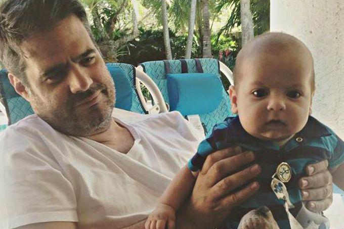 En video: así va el proceso de recuperación del hijo de Luis Chataing
