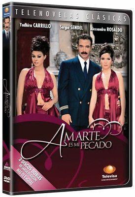 AMARTE ES MI PECADO (2004) * DVD Telenovela NEW FACTORY SEALED *Novela 2-DVD Set
