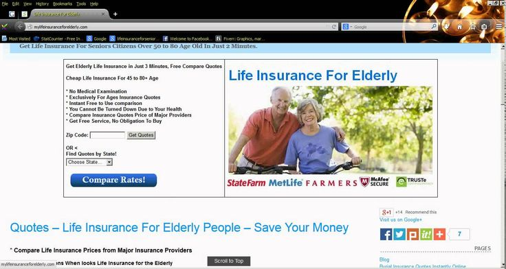 Life Insurance Quotes For Elderly Mesmerizing Life Insurance For Elderly Without Medical Checkup Quotes  Life