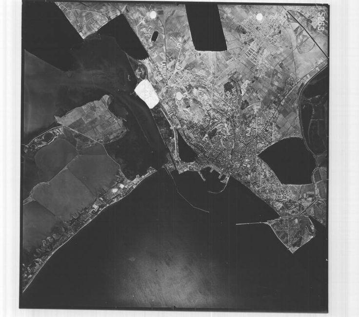 Il golfo di Cagliari in una IGM del 1954