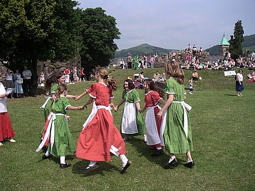 Site for Welsh folk dancing