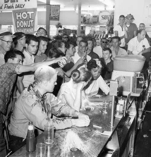 Woolworth Sit-in - Jackson Mississippi - May 28 1963