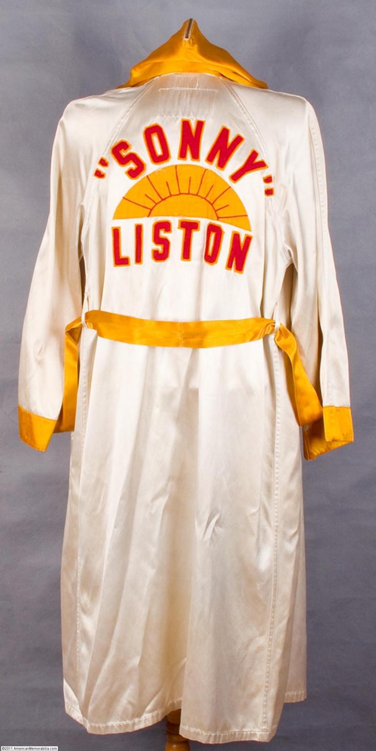 Boxer Fighter Robe 64 best Sonny Liston i...
