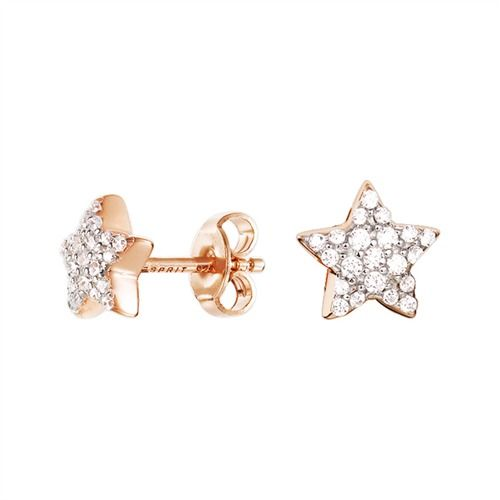 Esprit Silber Ohrringe Petite Star Rose  #earrings #silver #jewelry #esprit