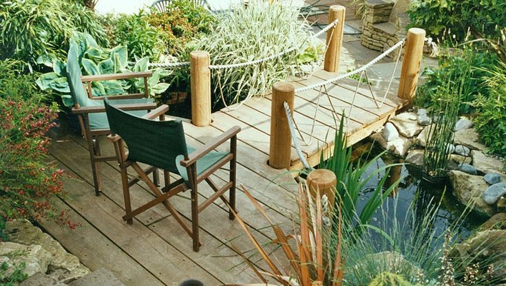 14 best decks and design inspiration images on pinterest for Garden pond specialists