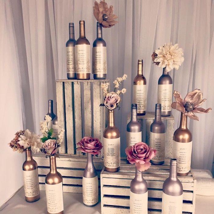 ▷ 1001 + idées de plan de table original pour votre mariage