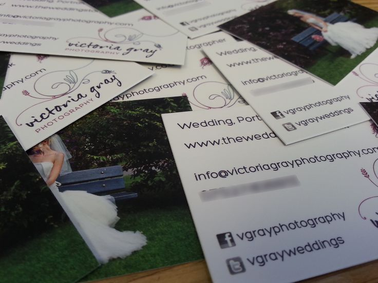 Victoria Gray Photography Business Cards