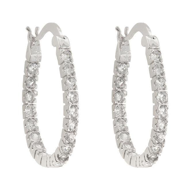Inside-Out Hoop Earrings