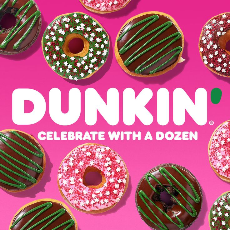 Get holidayin' at Dunkin' with our Holiday Flavors like