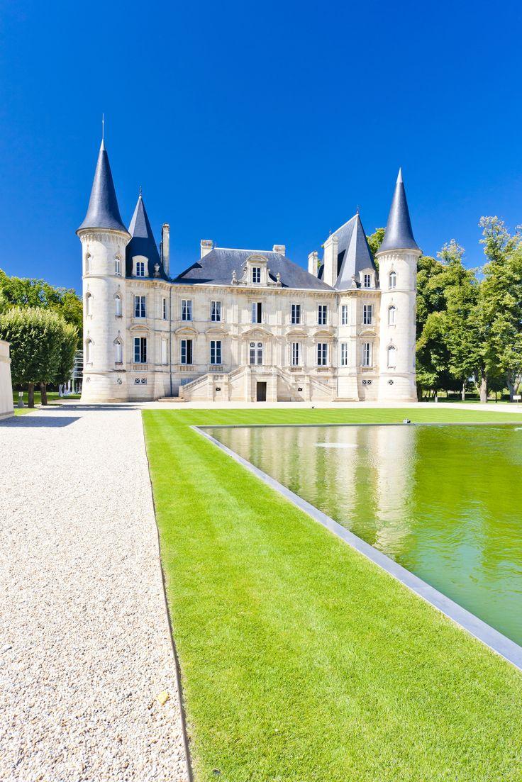 Chateau Pichon Longueville, Bordeaux Region, France