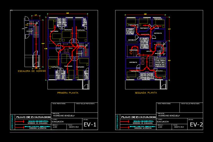safety plan dwg - book | batiment | architecture