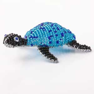 African beaded turtle - I love the colours!