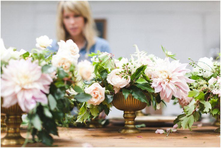 Informal Florist At Work
