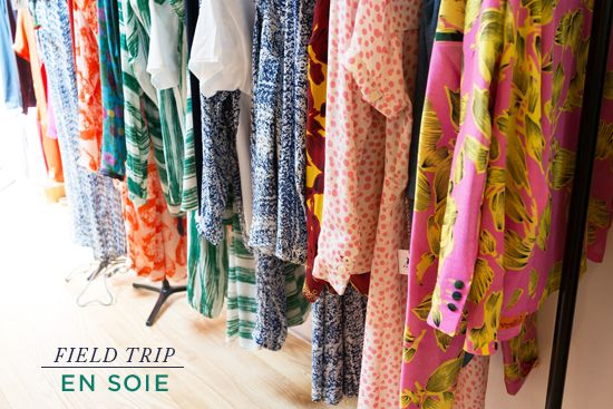 One of my favorite shops here in Silver Lake is En Soie—a family owned and operated line of clothing, textiles, and home goods that originated in Zürich, Switzerland, in 1894. Every pattern is hand-drawn and hand-printed to create bold and...