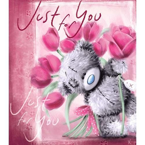 Tatty Teddy with Pink Roses