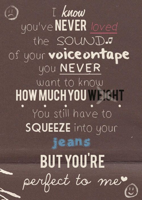 Little Things - One Directions. Thank you ed sheeran for writing this song