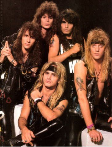 Warrant: 80's Hair Bands: you know you liked them too!!!