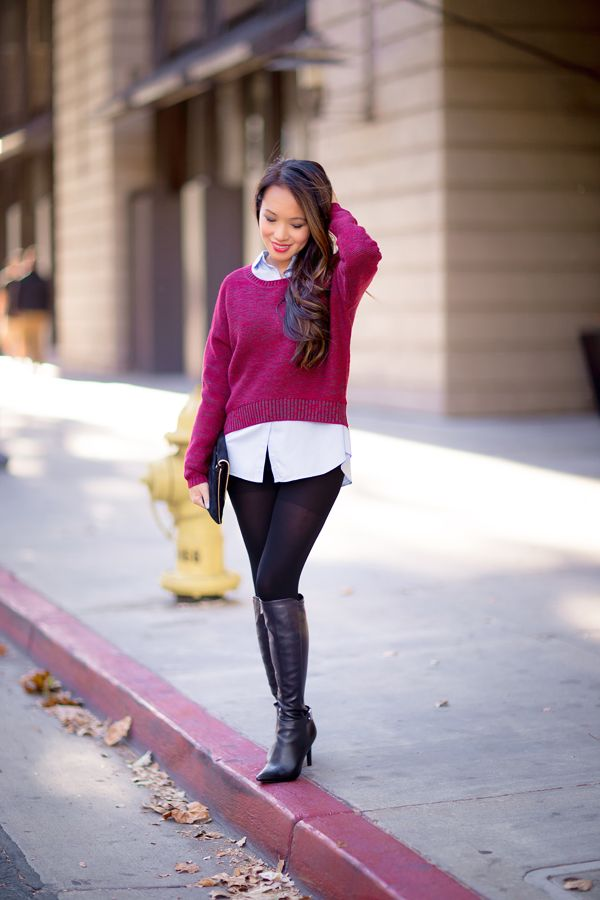 sweater weather, pretty style, petite fashion blog, style by alina, san francisco