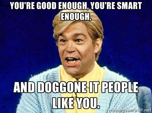 Stuart Smalley | Positive affirmation | SNL | Happy | Happiness | Life | Mental Health