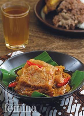 Sambal Goreng Krecek Femina for today's meal, yumm!