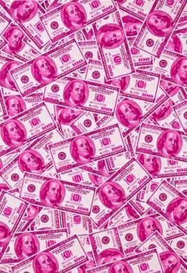 Pink money Tickled pink, Pink love, Money wallpaper iphone