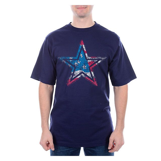 ON SALE NOW! NFL Dallas Cowboys Star Flag T-Shirt from shop.dallascowboys.com