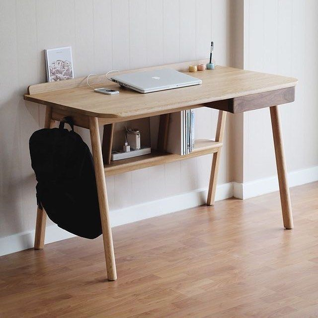 Best 25 Wooden desk ideas on Pinterest  Diy wooden desk