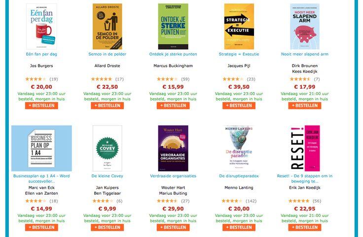 Net bekendgemaakt, de best verkochte boeken (eerste half jaar 2017) bij Managementboek; met het boek 'RESET!' van Erik Jan Koedijk in de top-15! #reset #erikjankoedijk #mgtboeknl #futurouitgevers