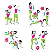 Risultati immagini per squat thrusts