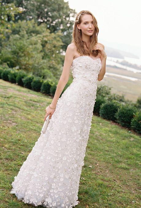 Outdoor Wedding Dress Styles
