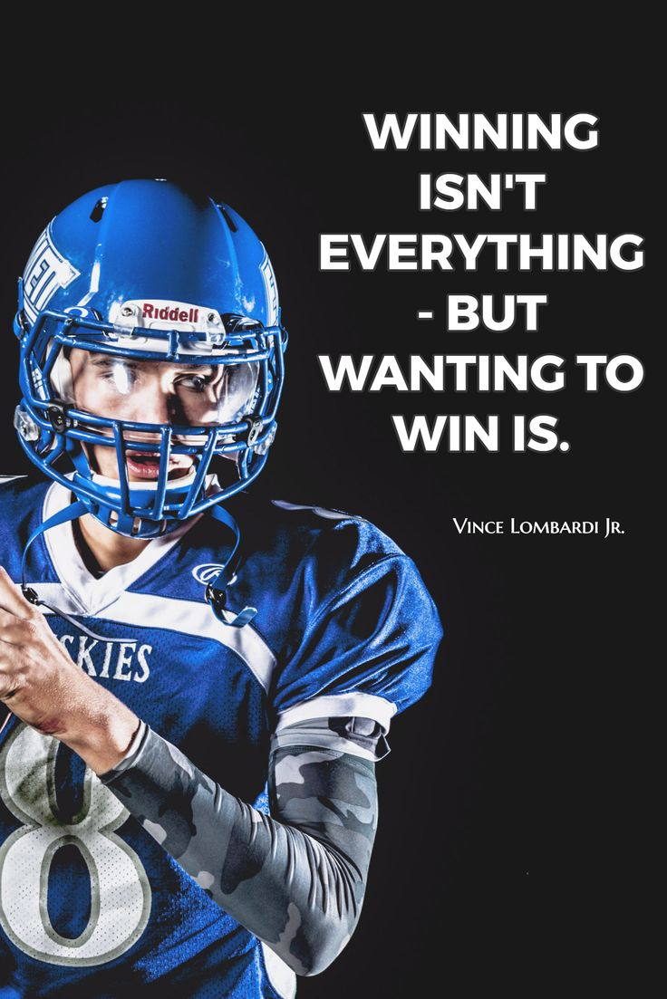 Vince Lombardi Jr. / WINNING ISN'T EVERYTHING - BUT WANTING TO WIN IS.