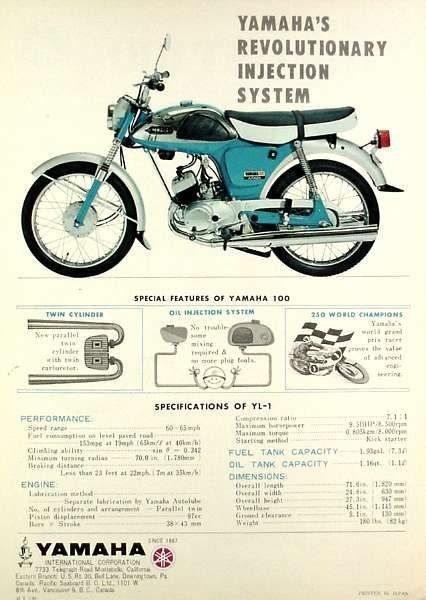Yamaha YL1 Twin Jet Advert