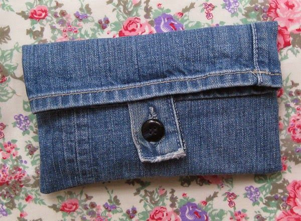 Denim Jeans Mini Purse