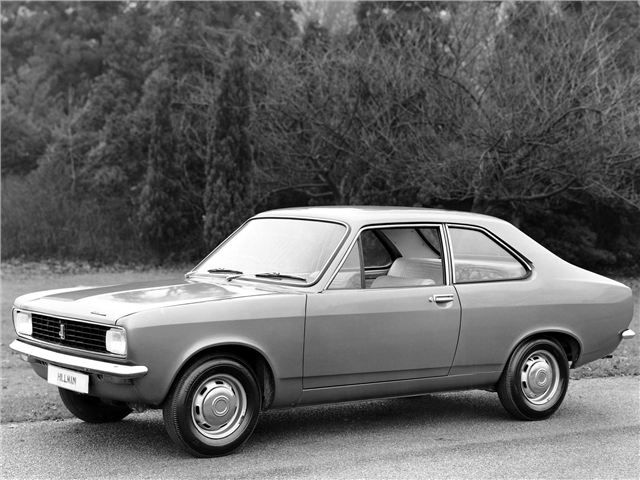 Hillman Avenger 1970-1981 638,631 built, with 369 remaining in the UK, for a total of 0.0578% left.