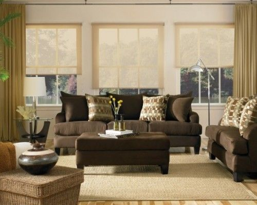 Brown Sofa Country Home Decorating Ideas Dark Place For Family Room Update