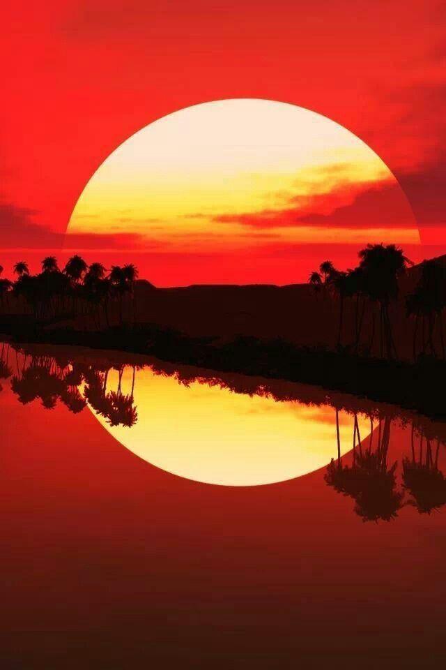 Amazing sunset | Amazing Nature | Pinterest