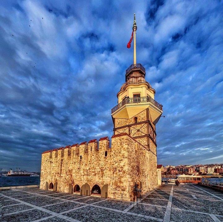 Maiden towers-İstanbul-Turkiye