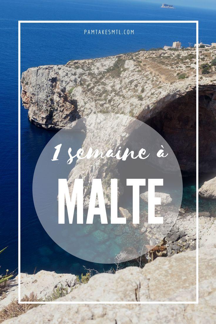Itinéraire 1 semaine à Malte #voyages #vacances #malte #travel #blog #travelblogger #summer #holidays