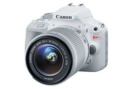 Canon EOS Rebel SL1 EF-S 18-55mm IS STM Kit White | Canon Online Store First day of school memories!! #VerizonTechHuntSweeps