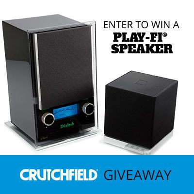 Enter to win 1 of 7 DTS Play-Fi speakers Crutchfield is giving away