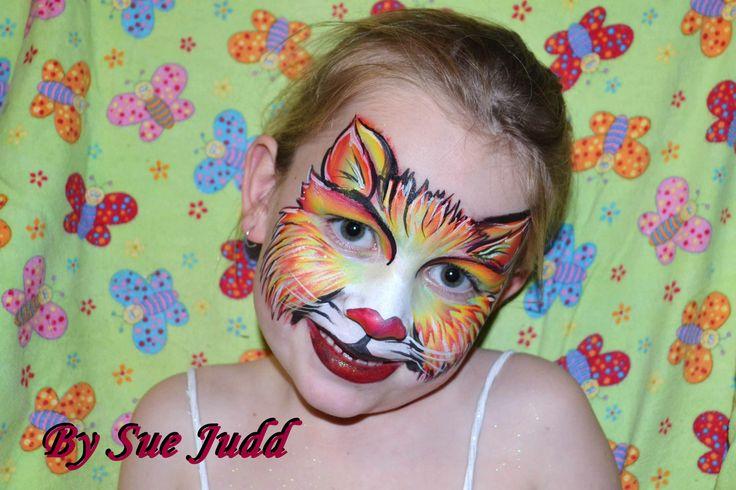 Rainbow kitty by Sue