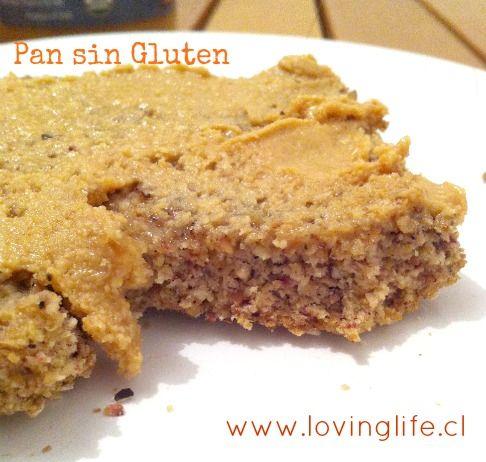 Pan hecho con harina de coco y harina de semillas de linaza. Bajo en carbohidratos, sin gluten y alto en fibra.