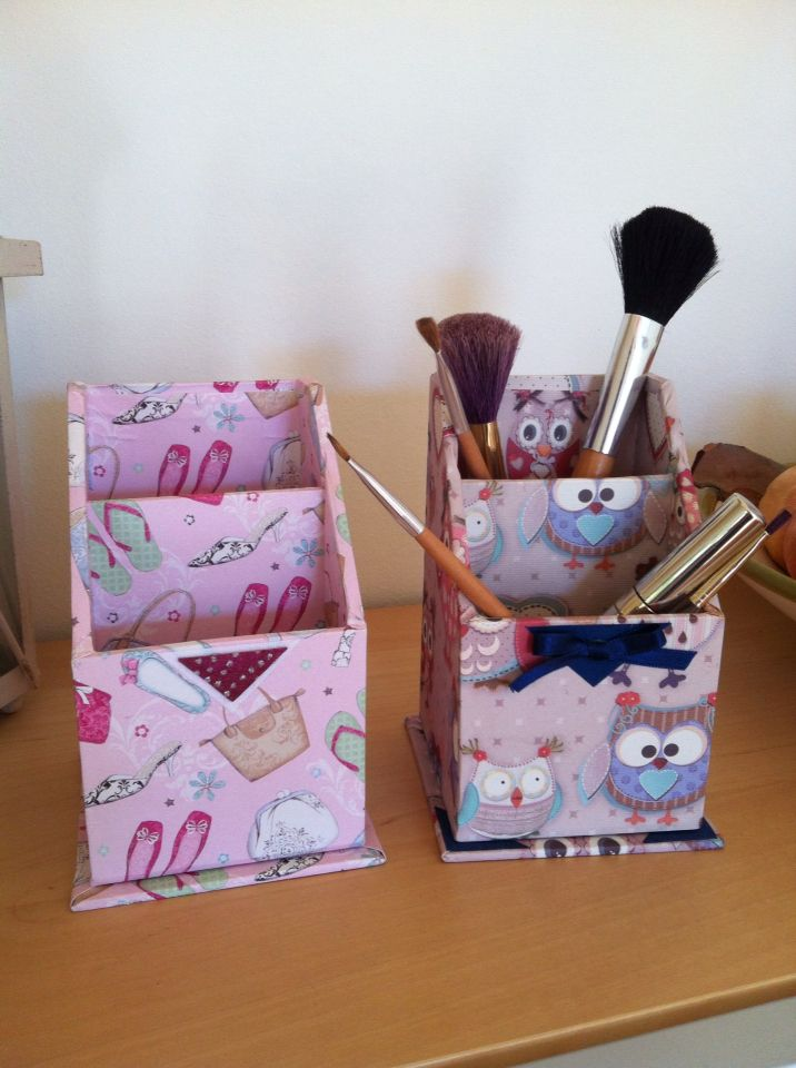 Portapennelli trucco, utilissimo in bagno per tenere in ordine tutti i nostri alleati di bellezza! Artefattishop disponibile su Etsy.com