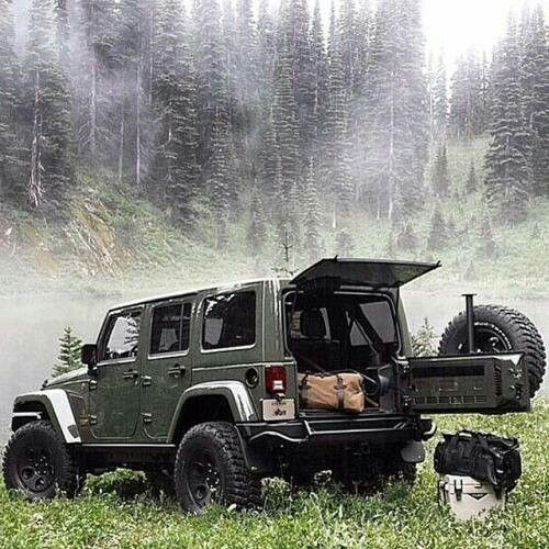 1000+ Ideas About Jeep Camping On Pinterest