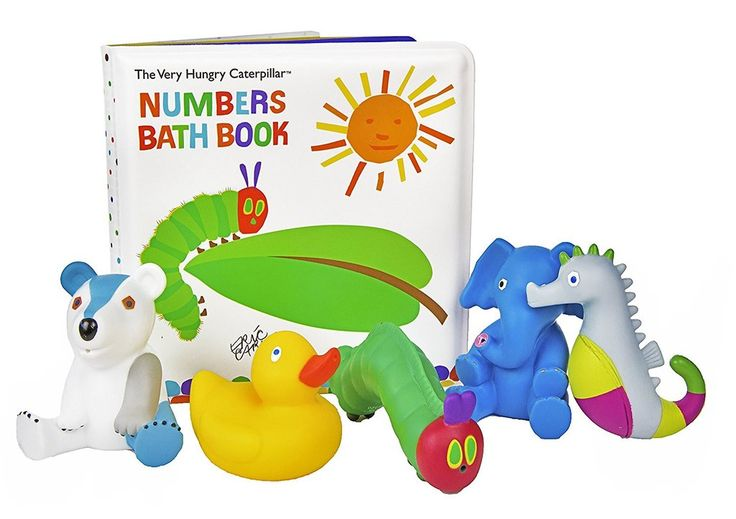 Kids Preferred Very Hungry Caterpillar Numbers Bath Book