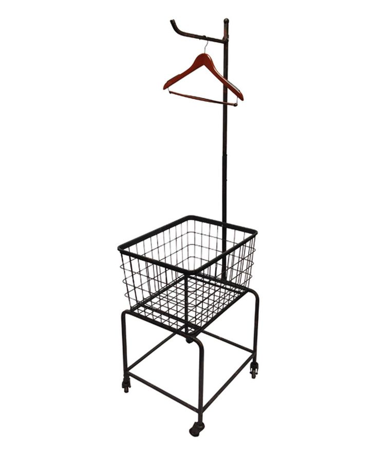 Another great find on #zulily! Metal Vintage-Style Laundry Cart on Wheels by Wilco #zulilyfinds