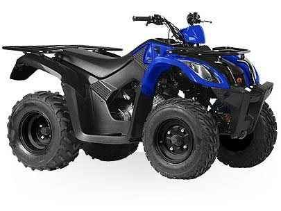 New 2016 Kymco MXU 150X ATVs For Sale in New York. The all new MXU 150X Despite being the smallest in the KYMCO MXU family of utility ATVs, the MXU 150X comes with power and features that make it a great value. Motivated by an air-cooled 149cc carbureted 4-stroke engine, this chain-drive 2x4 utility quad offers up an easy to use automatic CVT (F-N-R), dual A-arm front and rear swing arm suspension, preload adjustable shocks, and drum front and single disc rear brakes. Digital gauges keep you…